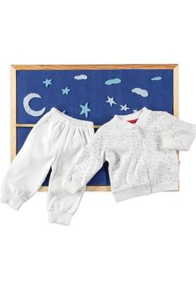 Carmin Baby Melanj Pijama Takımı Ekru
