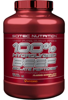 Scitec Nutrition %100 Hydrolize Beef Protein 1800 Gr