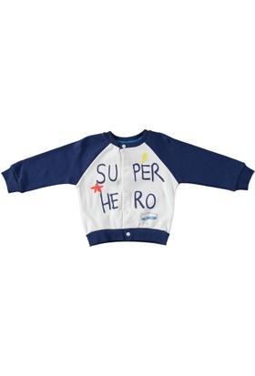 Baby Corner Super Hero 3 İplik Hırka