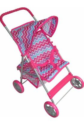 Baby&Toys Lüks Oyuncak Bebek Arabası