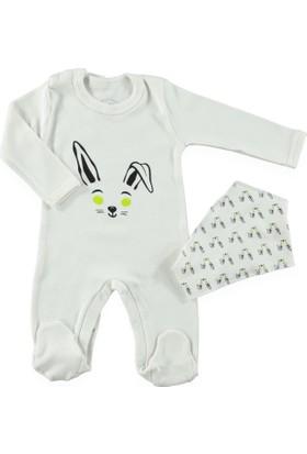 Bluuh Baby Tavşan Tulum Ekru