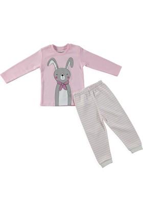 Hellobaby Tavşan Baskılı Pijama Takımı