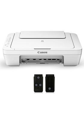 Canon Pizma MG3051 Wi-Fİ Fotokopi + Tarayıcı + Mürekkep Püskürtmeli Yazıcı + Tıpalı Kartuş Sistem
