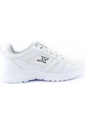 Step Erkek Spor Ayakkabı Hafif Taban K020 Beyaz