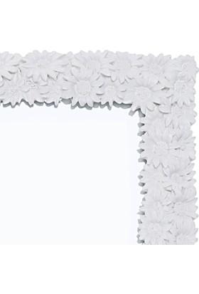 Maison White Decor Papatya temalı çerçeve 13 cm x 18 cm