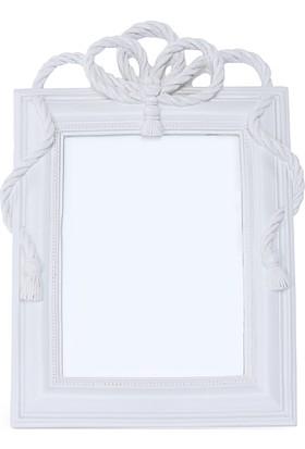 Maison White Decor Halat temalı dikdörtgen çerçeve 13 cm x 18 cm