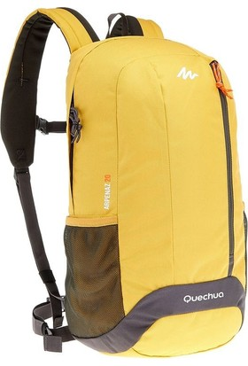 Quechua Outdoor Sırt Çantası - 20 Litre - Sarı / Gri Quechua