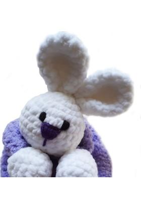 Damla Oyuncak Tavşan Örgü Peluş Oyuncak