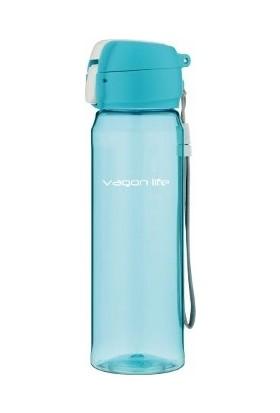 İkbalHome Vagonlife Su Matarası 550 Ml Yeni Model Mavi