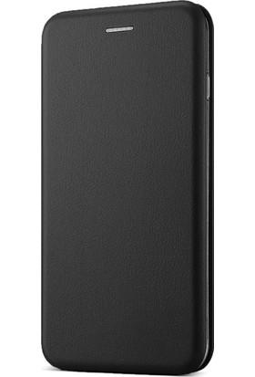 Sunix Samsung Galaxy A5 2017 Kılıf Ultra Slim Deri Flip Cover