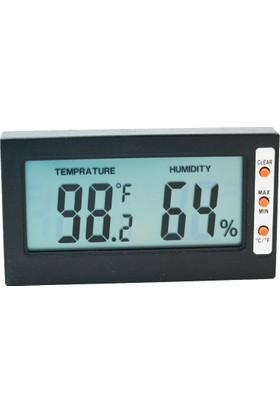 Juanjuan Hafızalı Dijital Termometre Higrometre Nem Ölçer
