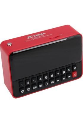 Kensa K-63 Alarm Saatli Fm Wireless Bluetooth Speaker