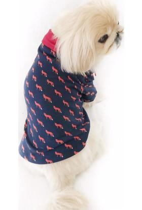 Kemique Fox Polo Yaka Tişört By Köpek Kıyafeti Köpek Elbisesi