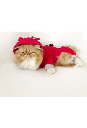 Kemique Kıtty Cat Kulaklı Tulum By Kedi Kıyafeti