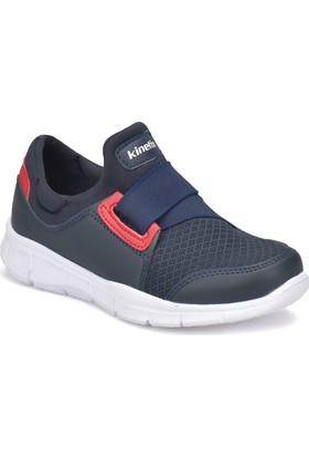 Kinetix Lugos Lacivert - Kırmızı Erkek Çocuk Yürüyüş Ayakkabısı