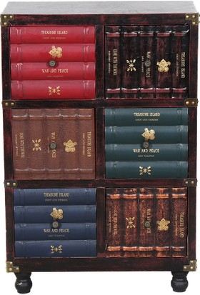 3A Mobilya Books Çekmeceli Konsol