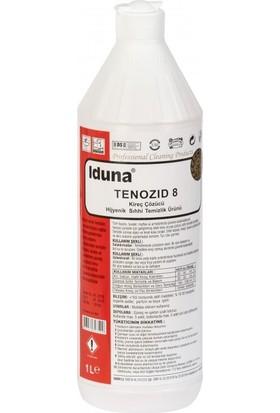 Iduna Tenozid 8 Fresh Kireç Çözücü Hijyenik Sıhhi Temizlik Ürünü 1 Litre