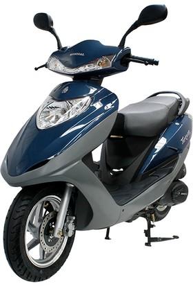 Mondial 125 Nt Turkuaz Scooter