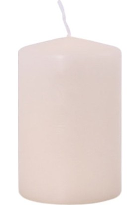 Zigzag Home Krem Kütük Mum 10 x 6 cm Cream 04
