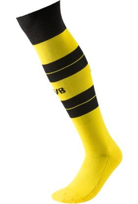 Puma Bvb Hooped Sarı - Siyah Erkek Futbol Çorabı