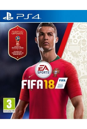 Fifa 18 World Cup PS4 Oyun