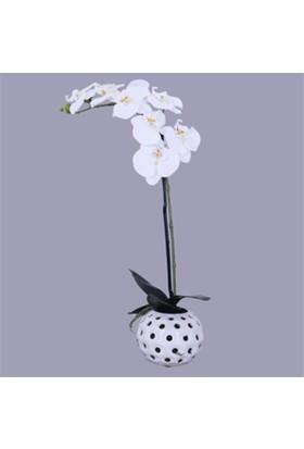 Zigzag Home Yapay Orkide Saksıda 12 x 55 cm