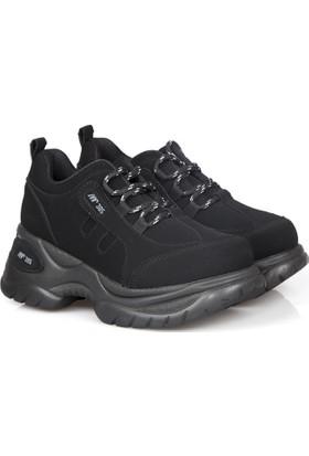 Mp Kadın Yüksek Taban Spor Ayakkabı Siyah-172-0305k-01