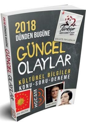 Benim Hocam Yayınları 2018 Dünden Bugüne Güncel Olaylar Kültürel Bilgiler Konu - Soru - Deneme