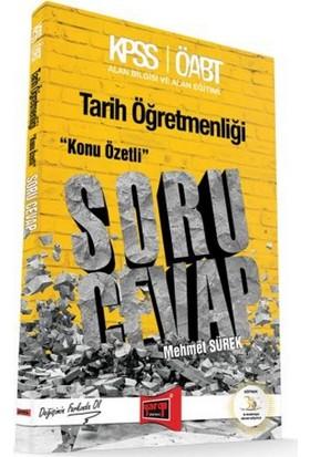 Yargı Yayınları Öabt Tarih Öğretmenliği Konu Özetli Soru Cevap Kitabı - Mehmet Sürek