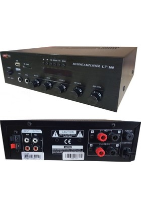 Lastvoice Lv 100 Anfi 100 Watt 8 Ohm / 100V Usb Sd Kart Radyo