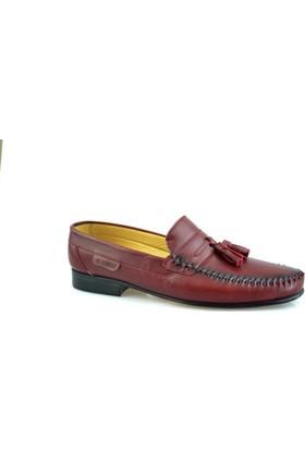 Gnc Termo Taban Bordo Deri Erkek Ayakkabı