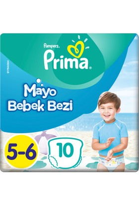 Prima Mayo Bebek Bezi 5 Beden Junior Tekli Paket 10 Adet