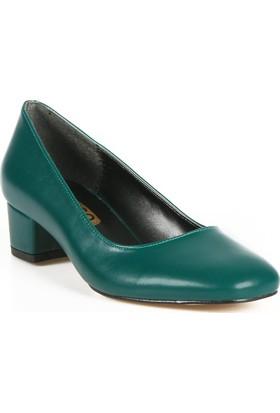 Rovigo Haki Kadın Topuklu Ayakkabı