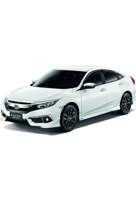 Honda Civic FC5 2016 Sonrası Modulo Ön Tampon Flap (Plastik)