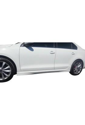Volkswagen Jetta 2010 - 2017 R Still Yan Marşpiyel Seti (Plastik)