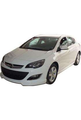 Opel Astra J HB 2013-2015 Makyajlı Ön Tampon Ek (Plastik)