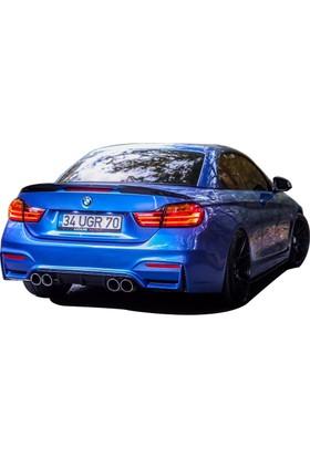 BMW 4 Serisi F32 2013 Sonrası M4 Cabrio Spoiler (Fiber)