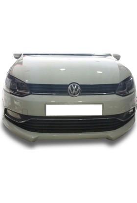 Volkswagen Polo 2015 - 2017 Makyajlı Ön Tampon Ek (Plastik)