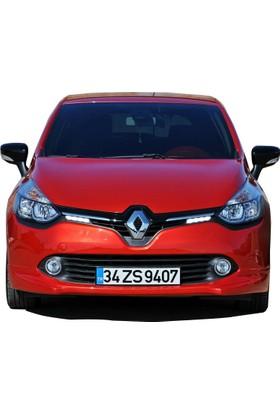 Renault Clio 4 2012 - 2016 Ön Tampon Ek (Plastik)