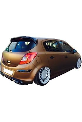 Opel Corsa D 2007 - 2013 Spoiler (Fiber)