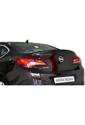 Opel Astra J Sedan 2013 Sonrası Spoiler (Plastik)