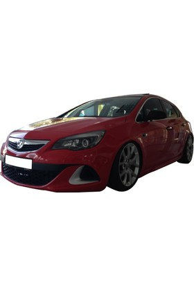 Opel Astra J HB 2011 - 2015 OPC Yan Marşpiyel Seti (Plastik)