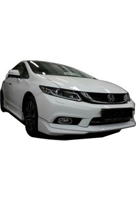 Honda Civic FB7 2012 - 2015 Modulo Black Edition Ön Tampon Ek (Plastik)