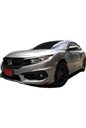 Honda Civic FC5 2016 Sonrası Turbo MYan Marşpiyel Seti (Plastik)