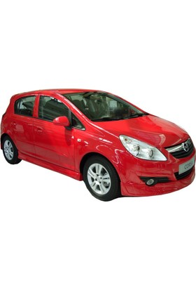 Opel Corsa D 2007 - 2013 OPC Line Yan Marşpiyel Seti (Plastik)