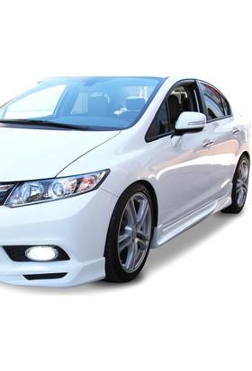 Honda Civic FB7 2012 - 2015 Custom Yan Marşpiyel Seti (Plastik)