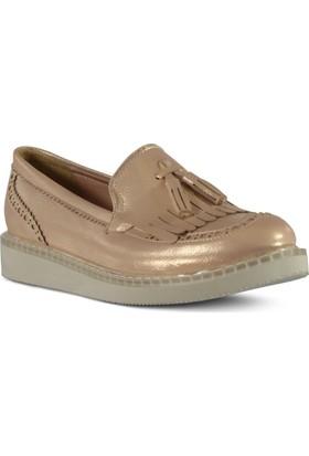 Marjin Endi Pudra Altın Kadın Günlük Ayakkabı