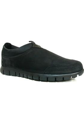 Scooter M5149Ns Siyah Bağcıksız Casual Erkek Ayakkabı