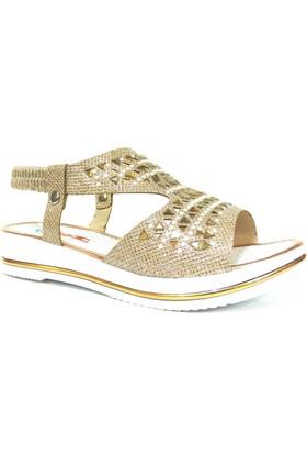 Punto 512004 Altın Çocuk Sandalet