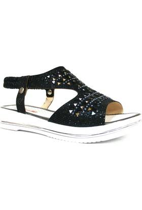 Punto 512004 Siyah Çocuk Sandalet